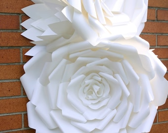 Paper Flower Decoration / Giant Paper Flowers / Paper Flower wedding arch decoration