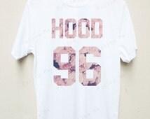 Calum Hood 5 seconds of summer Band Floral T-shirt Tees Unisex T-shirt S,M,L