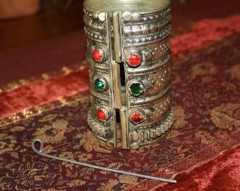 Afghan Kuchi Cuff Bracelet Vintage Tribal Bracelet Antique Pashtun Bracelet Belly Dance Gypsy Boho Bracelet
