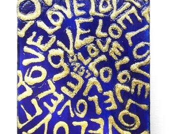 LOVE ULTRAMARINE word art