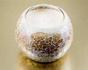 Mosaic Candle