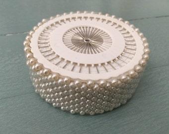 480 Pcs Pearl Round Head Pins Sewing Corsage Straight DIY Dressmaking Floral wedding