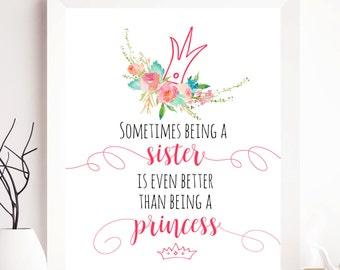Sister gift, Sister Print, Sister Printable, Sister Printables, Sister Quote, quotes printable, quote print, quote sister, quote gift, gift