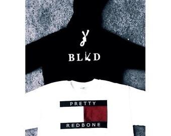 BLVD Cropped Hoodie®