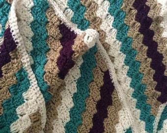 Unisex c2c baby blanket