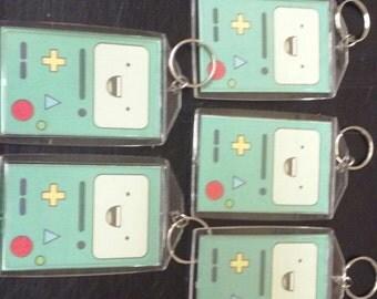 Adventure Time BMO keychain