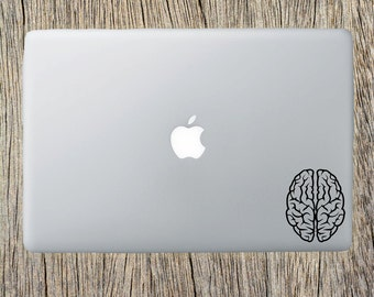 Brain, Brain Decal, Laptop Decal, IPad/IPhone, Decal, Car Decal, Window Decal, Bumper Decal, Yeti Tumbler Decal