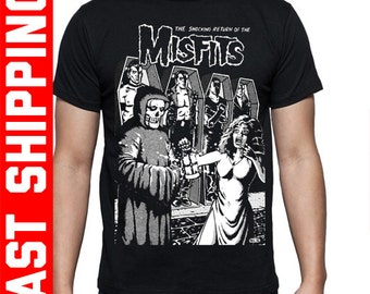 "Misfits T-Shirt ""The Shocking Return Of The Misfits"""