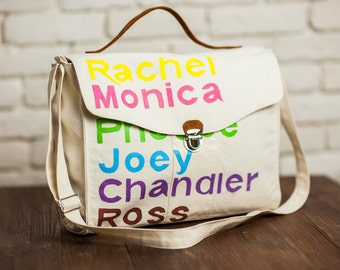 Shoulder Bag-Friends TV Show. Women