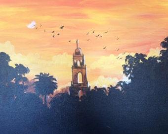 Sunset Over Balboa Park