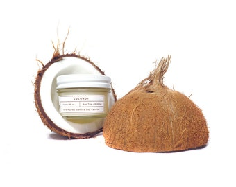 Coconut Soy Candle - 4oz Hand Poured