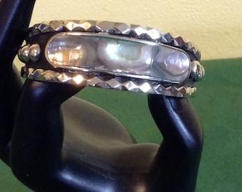 Silver childs bracelet