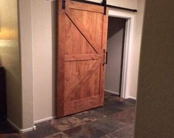 Rustic Distressed Barn Door