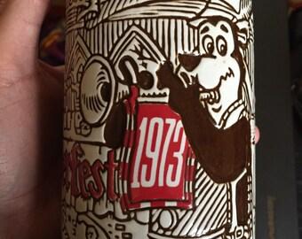 Vintage 1973 Hamm's Oktoberfest Beer Stein