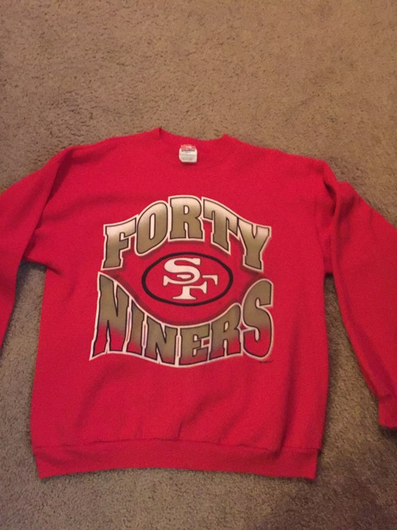 Retro 49ers Pullover Sweater