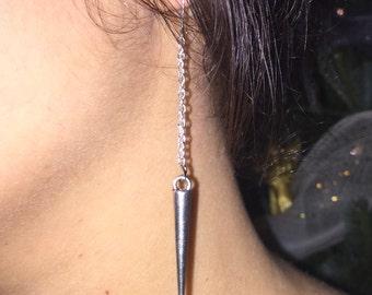 Metal Spike Earrings