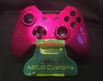 Brand new Xbox One Controller Shell Custom Painted Candy Magenta