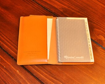 Vintage 1962 Address Book/Daily Planner/Business Card book