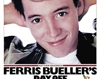 Ferris Bueller's day off (Matthew Broderick) signed photo print - 12x8 inch - high quality -
