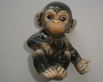 Vintage HTF Goebel Monkey Figurine #543 ~ West Germany