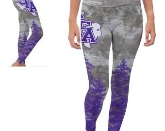 Stephen F. Austin University Lumberjacks Yoga Pants Designs