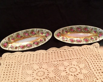 Candy, nut, relish dishes from the 1960's (2)