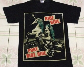 CLEARANCE SALE Lady Gaga the born this way. pony,ride,ride.