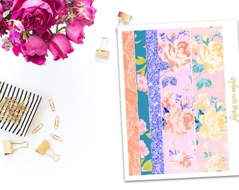 Beautiful Blooms EC washi