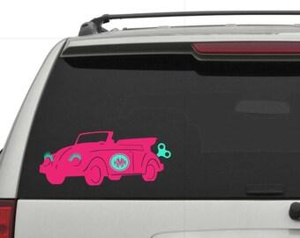 Volkswagen  decal, car accessories, car decal, volkswagen decal, volkswagen sticker, monogram decal, vinyl decal, window sticker, vw sticker