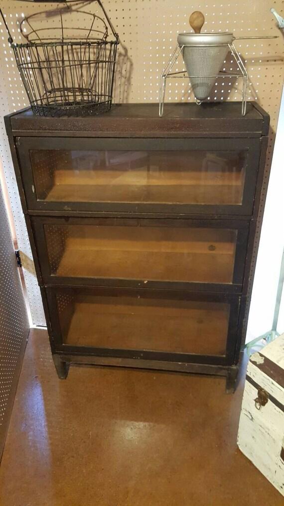 Antique Udell Barrister Bookcase vintage lawyer bookcase