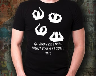 French Taunt T Shirt inspired by Monty Python The Holy Grail Film, Monty Python fan gift idea, Birthday present idea, film lover gift