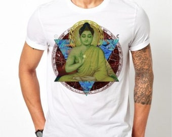 "Cool ""Buddha"" Custom T Shirt"