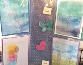Greeting Cards four Pack