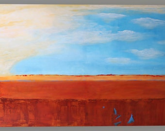 Abstract acrylic painting 120x80cm original paintings unique contemporary art landscape