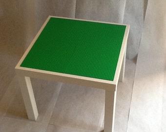 Lego Table White & Green