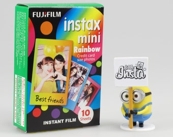 Fujifilm Instax Mini Film Rainbow - For Instax Mini 7, 8, 8+, 25, 50, 70, 90, SP-1 and Polaroid PIC 300