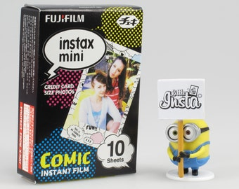 Fujifilm Instax Mini Film Comic - For Instax Mini 7, 8, 8+, 25, 50, 70, 90, SP-1 and Polaroid PIC 300
