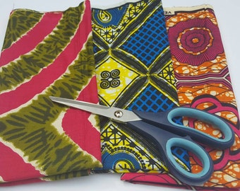 Fat quarter fabric bundles for African clothing