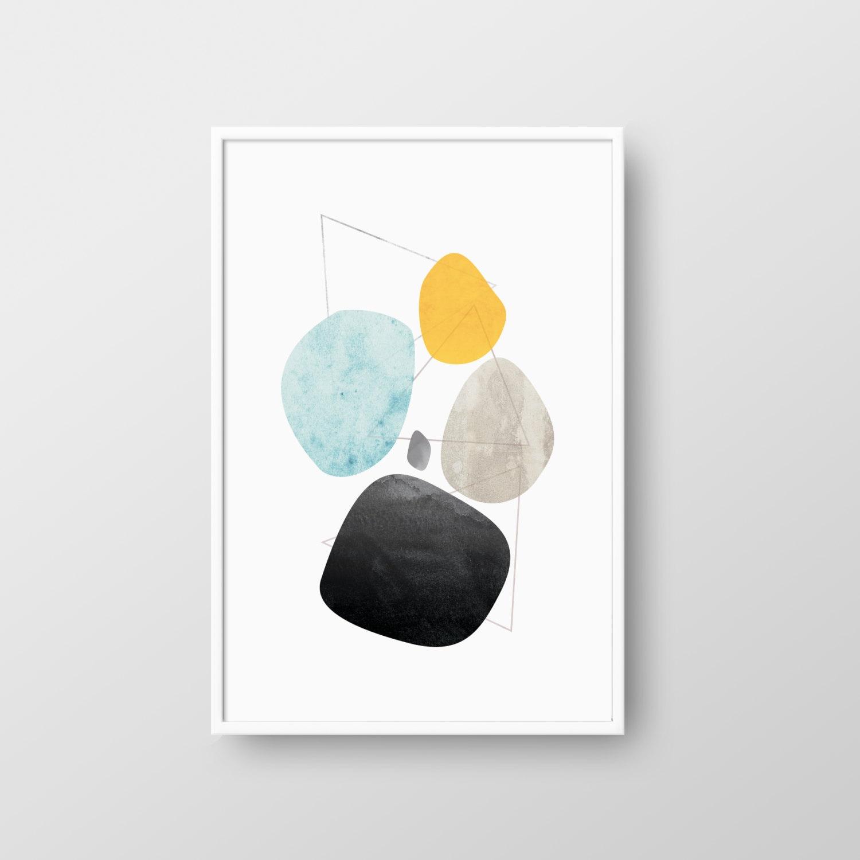 printable mid century poster mid century print modern. Black Bedroom Furniture Sets. Home Design Ideas