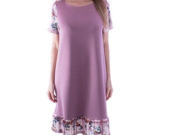 Purple Bell Dress