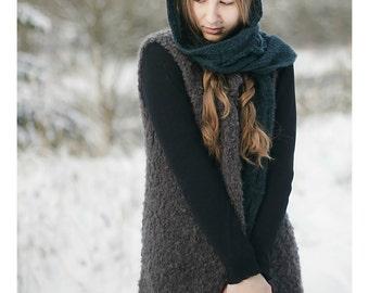 Vest | Womens Vest | Sweater Vest | Wool Vest | Spring Clothing | Spring Outfit | Long Vest | Knit Vest | Boho Vest | Sleeveless Cardigan