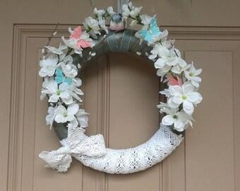 Springtime Bird Wreath