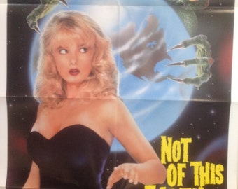 Not Of This Earth Original Movie Poster, Traci lords