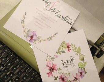 Participation in wedding-invitation