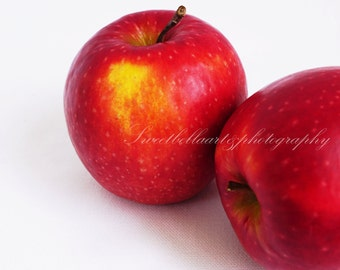 Wall Art, Photography Print, Apples, Food Photography