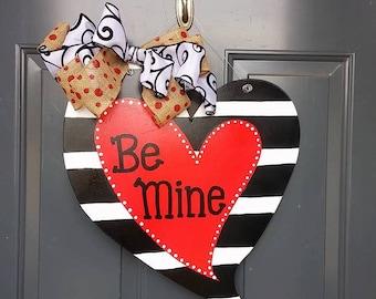 Valentine Heart Door Hanger
