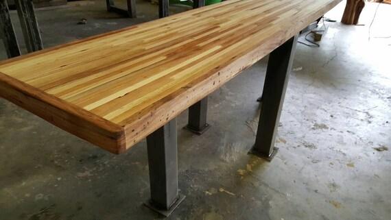items similar to buffet sofa table butcher block on etsy