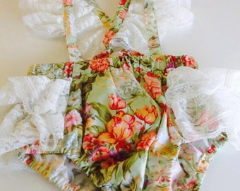 Very Frilly Romper size 12-18months