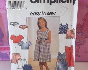 Simpliciy Pattern 7610 sizes 12-16 girls