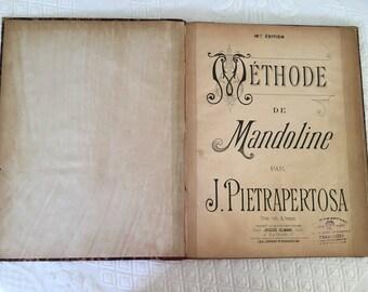 Old method for mandolin.